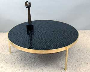 mosaic table by vladimir kagan bed mattress sale. Black Bedroom Furniture Sets. Home Design Ideas