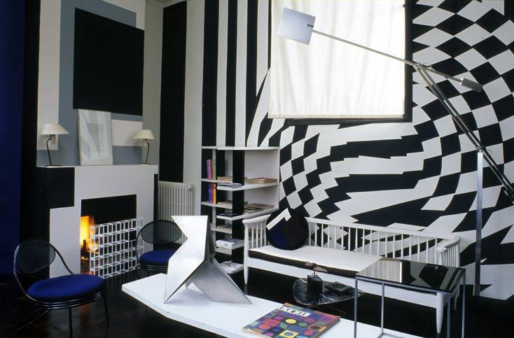 Interior Design US   ELLE Deco UK Photos : J.F Jaussaud. AD Russe